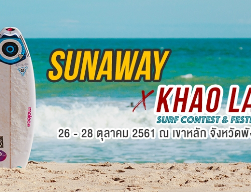 SunAway x Khao Lak Surf Contest And Festival 2018