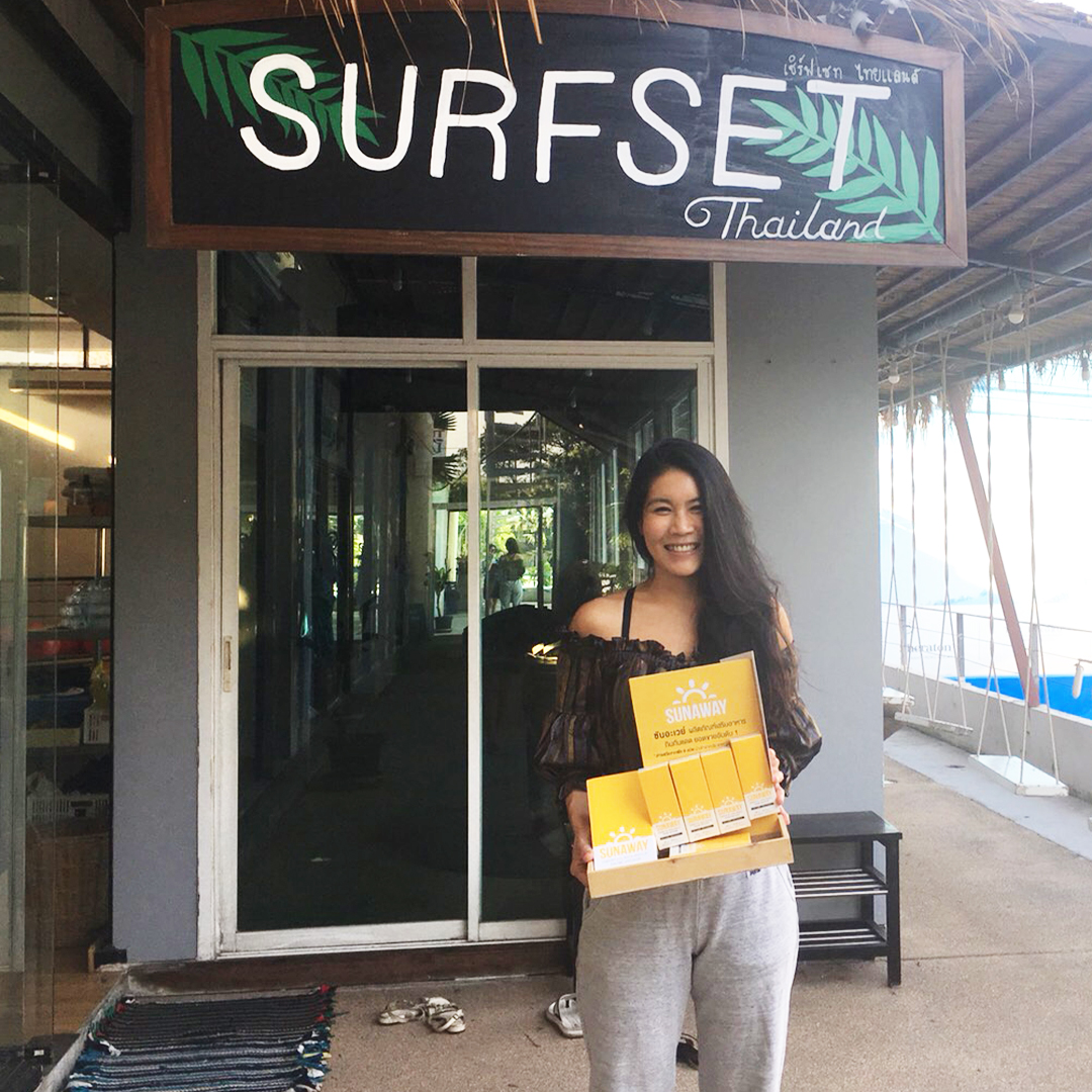 ซันอะเวย์ sunaway มีจำหน่ายแล้วที่ร้านเซิร์ฟเซทไทยแลนด์ surfset thailand